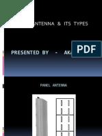 Panel Antenna Ppt- Akash Ray
