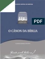 O_CÂNON_DA_BÍBLIA