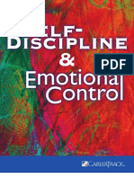 Self-Discipline and Emotional Control Workbook
