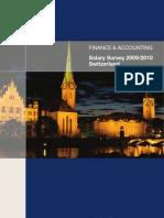 Salary Survey Finance 2009 2010