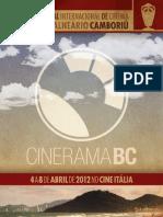 Catalogo CineramaBC 2012