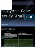 Toyota Case Study Analysis