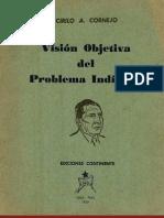 Visión objetiva del problema indígena  (extractos) por  Cirilo A. Cornejo