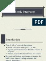 Economic Integration