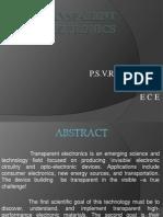 Transparent Electronics