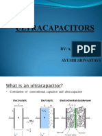 Ppt for Ultra Capacitors