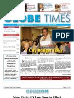 Southwest Globe Times March 23, 2012