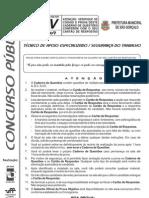 T06 - Técnico de Apoio Especializado - Segurança do Trabalho - V