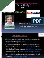 Kishore Biyani and Big Bazaar