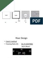 Riser Design- Caines Method [Compatibility Mode]