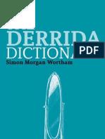 Derrida Dictionary Continuum Philosophy Dictionaries