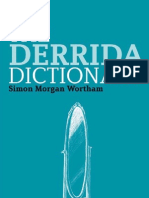 Derrida Dictionary Continuum Philosophy Dictionaries