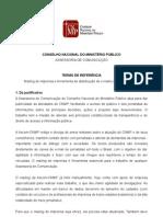 Termo de Referncia - Mailing e Sistema de E-mail Marketing 2011