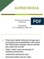 Bronkopneumonia Ppt