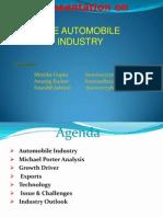 Presentation on Automobile Industry1