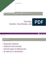 Vitamins Review