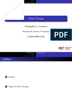 002 Point Groups