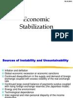 Economic Stabilization