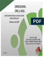 GUÍA DE EVALUACIÓN 2006