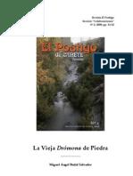 La Drómona de Piedra [Badal Salvador, M.A.]