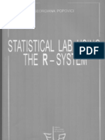 Statistical Lab Using the R-System - Georgiana Popovici