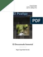 El Descarnado Inmortal [Badal Salvador, M.a]