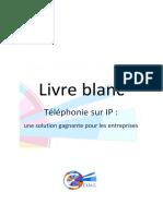 Livre Blanc - ToIP Une Solution Gagnante Pour Les Entreprises (MAJ)