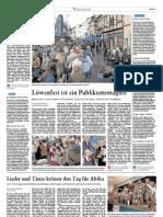 Westerwälder Zeitung vom 18.10.2011