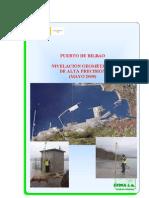 Puerto de Bilbao - Nivelación Geométrica de alta precisión