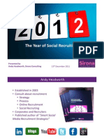 2012 - The Year of Social Recruiting