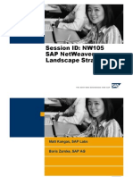 SAP NetWeaver Landscape Strategies