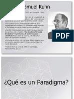 Paradigmas de Kuhn