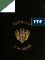 Memoria de los Virreyes que han gobernado el Perú durante el tiempo del coloniaje español. T.II. (1859)