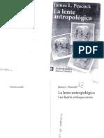 La lente antropológica p 1-38 James Peacock