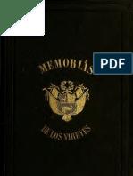 Memoria de los Virreyes que han gobernado el Perú durante el tiempo del coloniaje español. T.V. (1859)