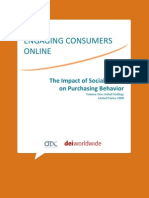 The Impact of Social Media on Purchasing Behavior