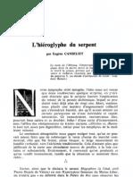 [Alchimie] AT288 - Eugène Canseliet - Hiéroglyphe du Serpent