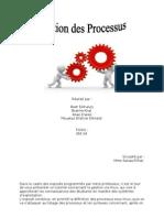 Rapport Gestion Des Processus