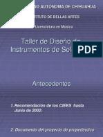 Taller de Diseño de Instrumentos de Selección