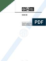 NBR 66 ABNT ISO IEC GUIA 66 - Requisitos Gerais Para Organis