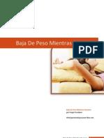 eBook Baja de Peso Mientras Duermes b