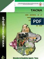 Serie Historica de La Produccion Al _2010