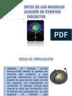 Componentes de los modelos de simulación de eventos
