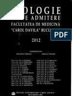 Teste Admitere Carol Davila 2012