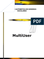 Manual gp-UntisMultiUser 2007