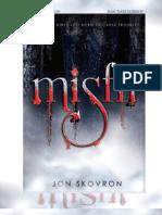 'Misfit' en español - Jon Skovron