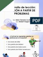LECCION DE  RESOLUCION DE PROBLEMAS