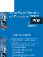 Online Fraud Detection and Prevention