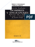 Ernesto Sabato - Hombres y Engranajes