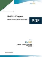 Mysql Triggers